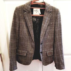 H&M Plaid Blazer Jacket